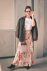 Katerina Lozovaya - H&M Skirt - If today was your last day