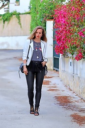Rimanere Nella Memoria -  - Black Leather Pants