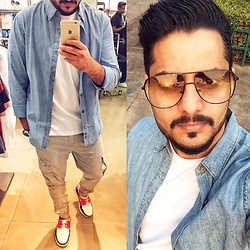 ♚ Mr.Prince Vadaan ♚ - Max&Co. Shirt, Aldo Shoes, Ray Ban Sunglasses - Selfie