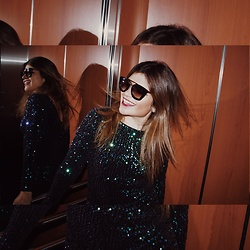 MARRE ... - Prada Sunglasses, Motel Rocks Dresses - Dance all night