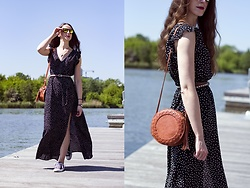 Ewa - Shein Maxi Dress - More dots