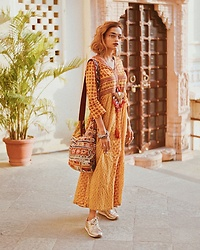 Monalisha Mahapatra -  - Boho chic vibe for the day