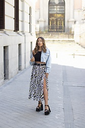 Claudia Villanueva - Zara Jacket, Bershka Top, Shein Skirt, Yellow Shop Sandals - Do you want to go out?