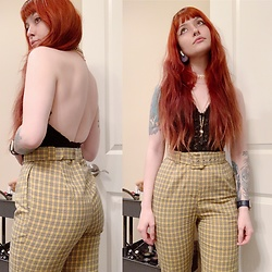Samantha Elise - Forever 21 High Waist Trousers - Come through