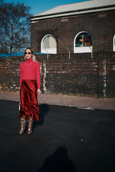 Daniella Robins - Topshop Skirt - My Colourful Take On The Slip Skirt
