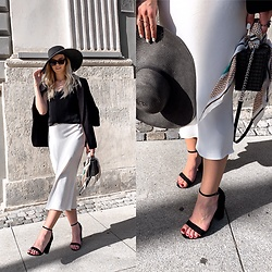 Zuza - Zara Skirt, New Look Sandals, H&M Hat - Kick off your friday