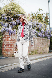 Daniella Robins - Warehouse Snake Print Jacket, Dr. Martens Boots - Part One Of Styling The Snake Print Jacket