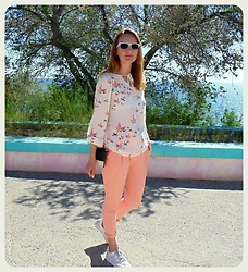 Galina K - Shein Blouse, Shein Pants, Shein Bag - Tuesday