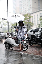INWON LEE - Byther Hoodie, Byther Sword Umbrella - Rainy Season in Korea