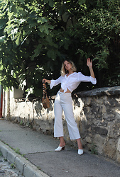 Tímea Tóth -  - All white look - New post on my blog
