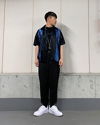 ★masaki★ - Pop Icon 90's Shirts, Ch. Trousers, Nike Af1, Gucci Necklace - 90's SHIRTS