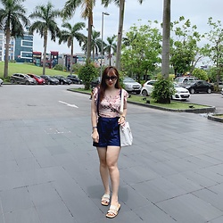 Lan Chi Vu - Lyn Around Thailand Short And Top, Charles And Keith Sandal, Chanel Bag - Walk away from negative thoughts
