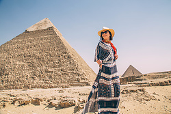 Lindsey Puls - Amazon Dress - What I Wore to the Pyramids of Giza