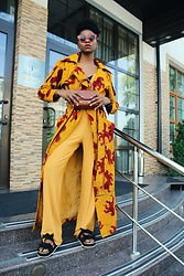 Melody Jacob -  - MUST-HAVE ANKARA STYLE TRENCH