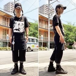 @KiD - (K)Ollaps Post Punk, Bauhaus Tee, Vivienne Westwood Cigarette Case, Odyn Vovk Skirt Pants, Puma Mcq - JapaneseTrash513