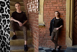 Piotr Czak - Bershka T Shirt, Zara Jacket, Zara Pants, Zara Shoes - TRIP TO SAVANNAH