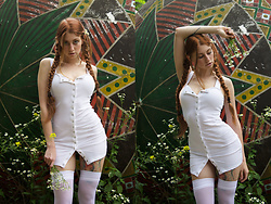 Umbird - Zaful Dress - White