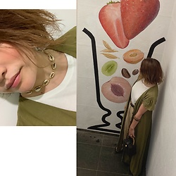 Chihiro_04.10 - Zara Dress, Zara Bag, Instagram - Dress layered