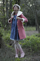 Jennifer Hankin - Pretty Little Thing Unicorn Gum Boots - Unicorn Dress