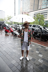 INWON LEE - Byther Cardigan, Byther Umbrella - Rain Doesn't Hurt My Fashion