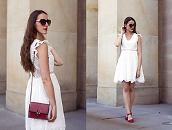 Ewa - Shein White Dress - In white, part 1
