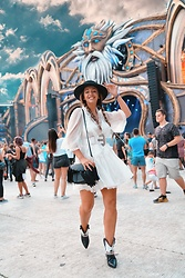 Manuella Lupascu - Nissa Dress, Toga Boots - Ready for Untold Festival