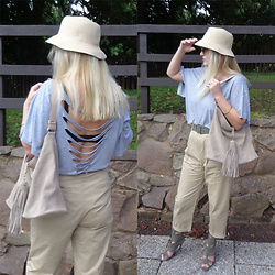 Alice Liddell -  - Chinos for summer