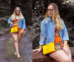 Emma Reay - Shein Tropical Coord Gifted - TROPICALS