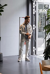 Kevin Elezaj - Vans Sneakers, Wood Pants, Sandro Shirt, Arket Shirt - White kinda Friday