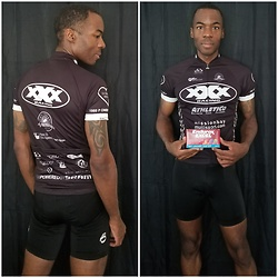 Thomas G - Pactimo Xxx Racing, Pearl Izumi Bike Shorts, Endurox Excel - Cycling apparel