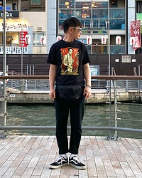 ★masaki★ - Obey Joe Strummer, Neuwdenim Jeans, Vans Oldskool - What a lovely day