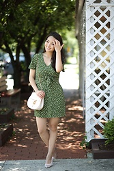 Kimberly Kong - Francesca's Polka Dot Dress - Stylish Francesca's Dresses Under $50