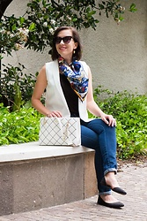 Lindsey Puls - Shein Blazer, Kate Spade Bag - All About the Accessories