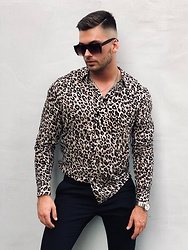 Silesianbeast - H&M Shirt, Zara Pants, Guess Watch, H&M Necklace, Topman Sunglasses - Wild&smart look #1