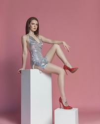 Dasha Nesterova - Casadei Shoes - Hello