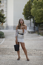 Claudia Villanueva - Shein Dress, Shein Bag, Zara Sandals - El vestido de la temporada