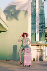 Amy Roiland - Luggage, Sugar Doll Swimwear - Lets Vacation