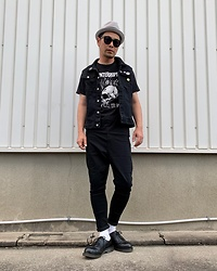 ★masaki★ - Newyork Hat, The Interrupters 壊れた世界, Asos Dropchrotch, Dr. Martens 3hole - 壊れた世界