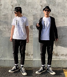 ★masaki★ - Newyorkhat Hat, The Interrupters Tim Armstrong Artwork, Converse Ct70 - ON A TURNTABLE