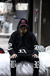 INWON LEE - Byther Big Lettering Logo String Hoodie, Byther Sweatpants, Byther Skull Cap - Comfy Hoodie With Style