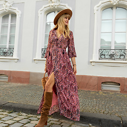 Catherine V. -  - BOHEMIAN CHIC FOR FALL
