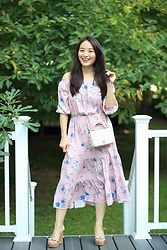 Kimberly Kong - H&M Printed Dress - Fab Off the Shoulder Dresses Under $50