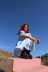 Yuka I. - Dress, Boots - Raggedy ann