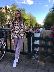 Anastasiia - Betsey Johnson Sunnies, Asics White As Heaven Sneakers - Chain Reaction