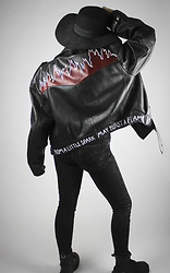 Maze - Shittyfucky Renewed Vintage Leather Jacket - From a little spark may burst a flame