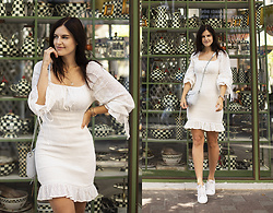 Viktoriya Sener - Shein Dress - WHITE DRESS