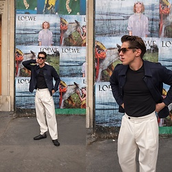 Matthias Geerts -  - White Large Trousers
