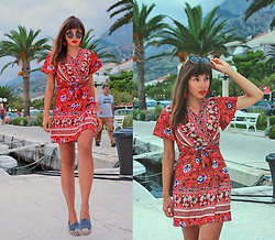 Jointy&Croissanty © -  - Red boho dress