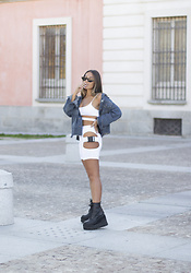 Claudia Villanueva - Rosegal Jacket, Tbdress Set, Un Paso Mas Boots - Lycra Set
