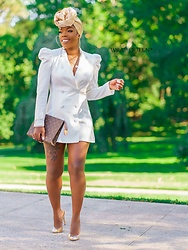 Kelly W -  - All The Lady Feels- Blazer Dress!